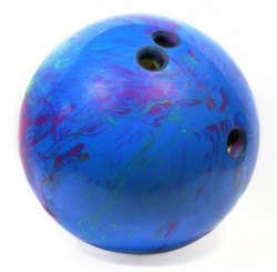 Blue Bowling Ball